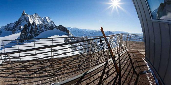 La SkyWay del Monte Bianco